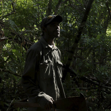 There are two Indigenous rangers working in land management at the national park.