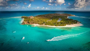 Richard Branson denies Necker Island is a tax haven, saying it's his home.