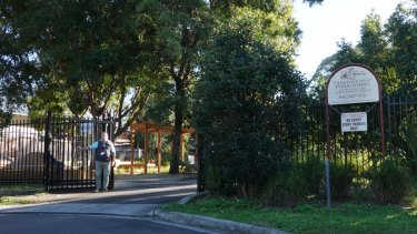 Lane Cove West Public School was closed on Thursday.