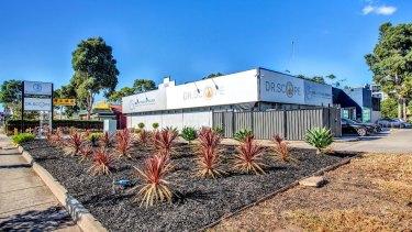 The Sunshine Day Hospital at 493 Ballarat Road.