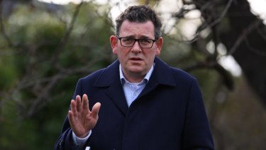 Premier Daniel Andrews is further restricting entry from NSW, which recorded 172 coronavirus cases on Tuesday.