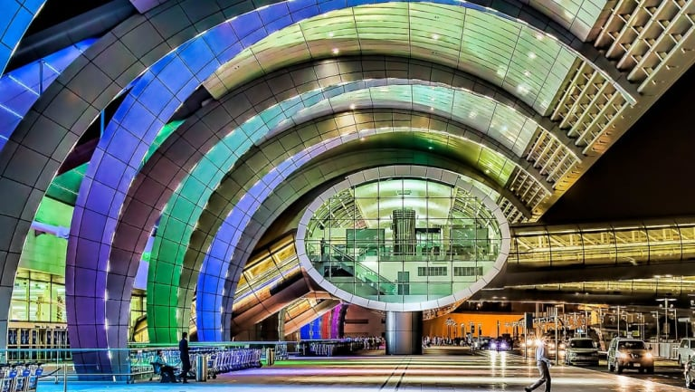Glamorously designed airports such as Dubai's may become relics of the past as the aviation industry moves to more and cheaper travel hubs.