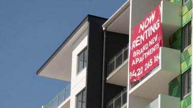 Apartment prices have fallen less than houses.