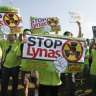 Aussie miner sinks after Malaysia call on radioactive waste