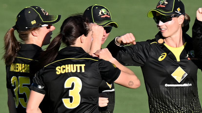 'She was out': Line-ball calls go Australia's way in victory over New Zealand