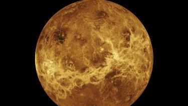 The planet Venus.