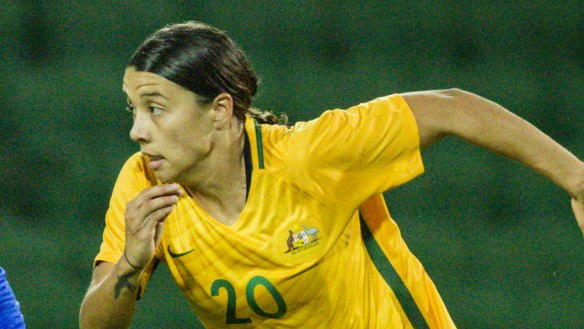 Sam Kerr snubbed again in FIFA's Best awards