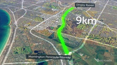 The new Mordialloc Freeway will be 9km long