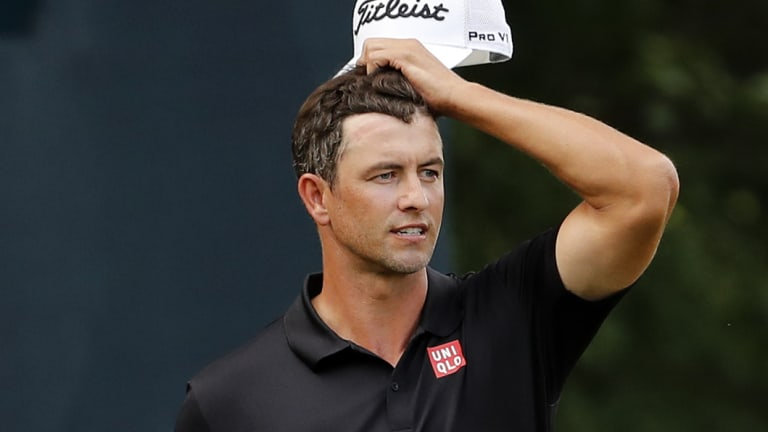Adam Scott has left himself with a chance on the final day.