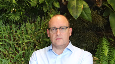 New BWX chief executive, and former Blackmores executive, David Fenlon.
