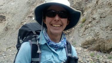 Sydney mountaineer Ruth McCance.