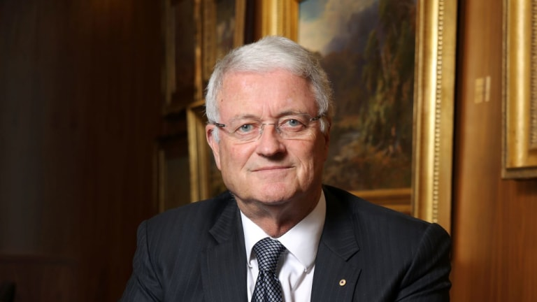 Former NAB chairman and current Wesfarmers chairman Michael Chaney