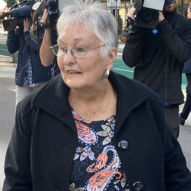 Whiskey Au Go Go witness Kath Potter in Brisbane on Wednesday.