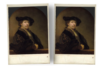 Rembrandt was the original master of the selfie.