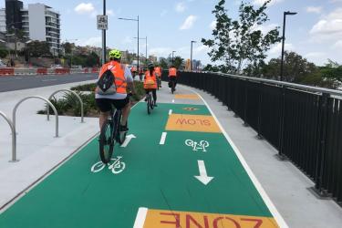 Cyclists want safer paths around Brisbane.