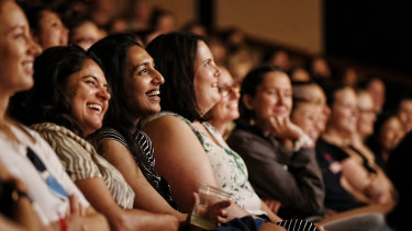 Audience members at the All About Women festival at the Sydney Opera House.