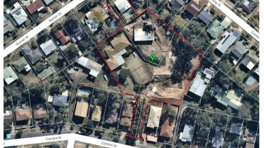The large development was planned to have 29 townhouses on the blocks of land in Mt Gravatt East.