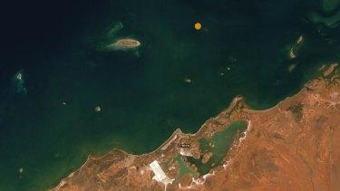 The earthquake hit near Onslow in WA's Pilbara.