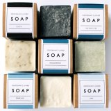 For a man in a lather about hygiene: Gentleman's Lather Soaps.