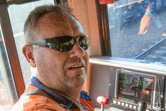 Train driver John Kennedy was killed in the Wallan crash.