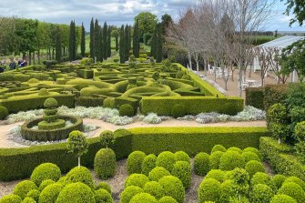 Merribee garden in Shoalhaven is full of magical maze-like hedges.