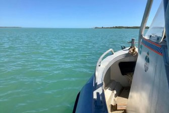Water police continue to search for the Norwegian national who has gone missing off North Stradbroke Island.