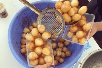 Grab some loukoumades (honey balls) at the Greek Festival this weekend.