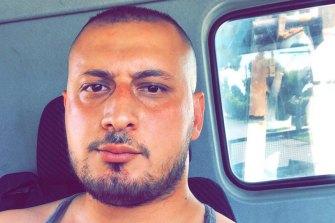 Ewan Yakou injured in the brawl