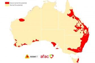 The December Australian Seasonal Bushfire Outlook.