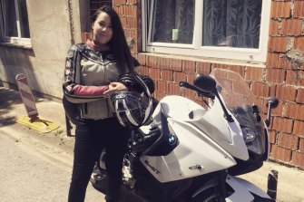 Ms Edwards was an experienced motorbike rider and had travelled all over the world.