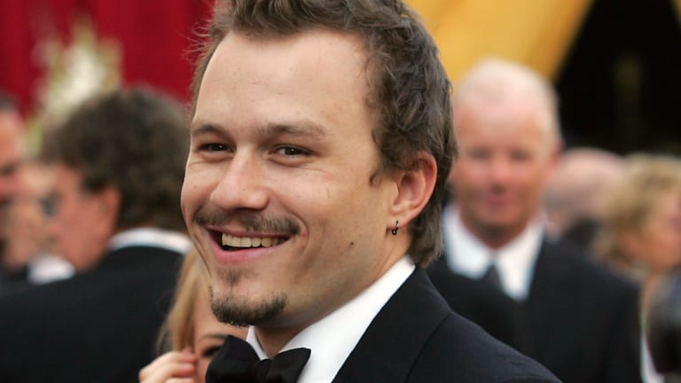 Australian actor Heath Ledger.