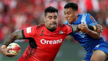 No more divided loyalty: Andrew Fifita says he has played his last games for Australia and NSW.