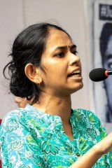 Jawaharlal Nehru University student leader Aishe Ghosh was injured in the attack.