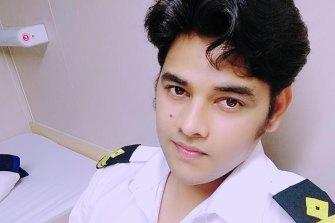 Gaurav Singh, an officer on the ship, Anastasia.