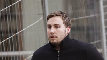 A jury heard Adam Cranston asked his father to help find information on a business associate, Simon Anquetil.