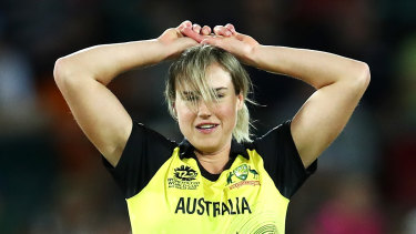 Ellyse Perry will miss Australia's ODI series against New Zealand.