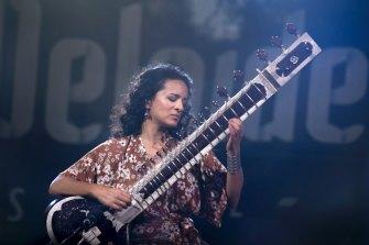 """A huge honour"": Anoushka Shankar, who plays on the album."