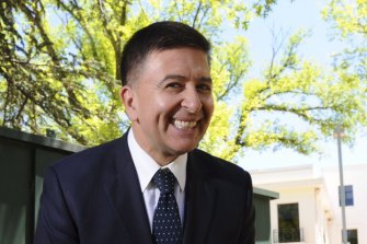 Vince Sorrenti hit the right note for a rugby do.