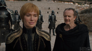 Lena Headey as Cersei Lannister in the final season of Game of Thrones.