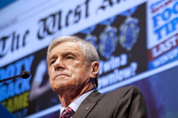 Seven Group Holdings chairman Kerry Stokes.