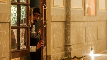 Dev Patel as Arjun in <i>Hotel Mumbai</I>, shot in Adelaide and Mumbai and directed by Australian Anthony Maras.