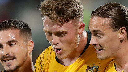 History-making Socceroos win eighth straight as Souttar strikes