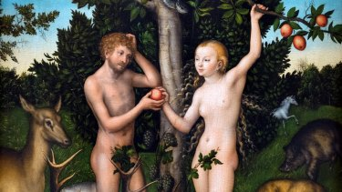Eve would have been an early proponent of Free the Nipple, had God created Facebook on Day 7 (painting by Lucas Cranach the Elder, 1472-1553).