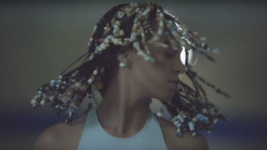 Jafa produced the video for Solange's track Don't Touch My Hair.