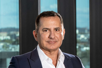 Bank of Queensland CEO George Frazis.