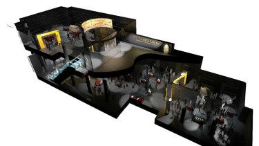 Inside the Australian Museum renovations.
