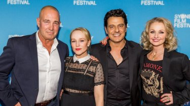 Martin Sacks, Susie Porter, Vince Colosimo and Rachel Blake at the Sydney Film Festival screening of The Second.