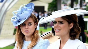 Princess Beatrice (left) and Eugenie (right), in with a chance.
