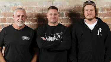 Marcos Cain, Andy Freeman and Jack Cameron are the brains behind the soon-to-open Pirate Life Perth brewery.