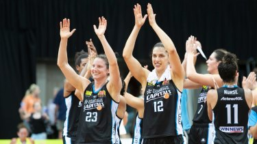 Capitals co-captains Kelsey Griffin and Marianna Tolo are Opals-bound.